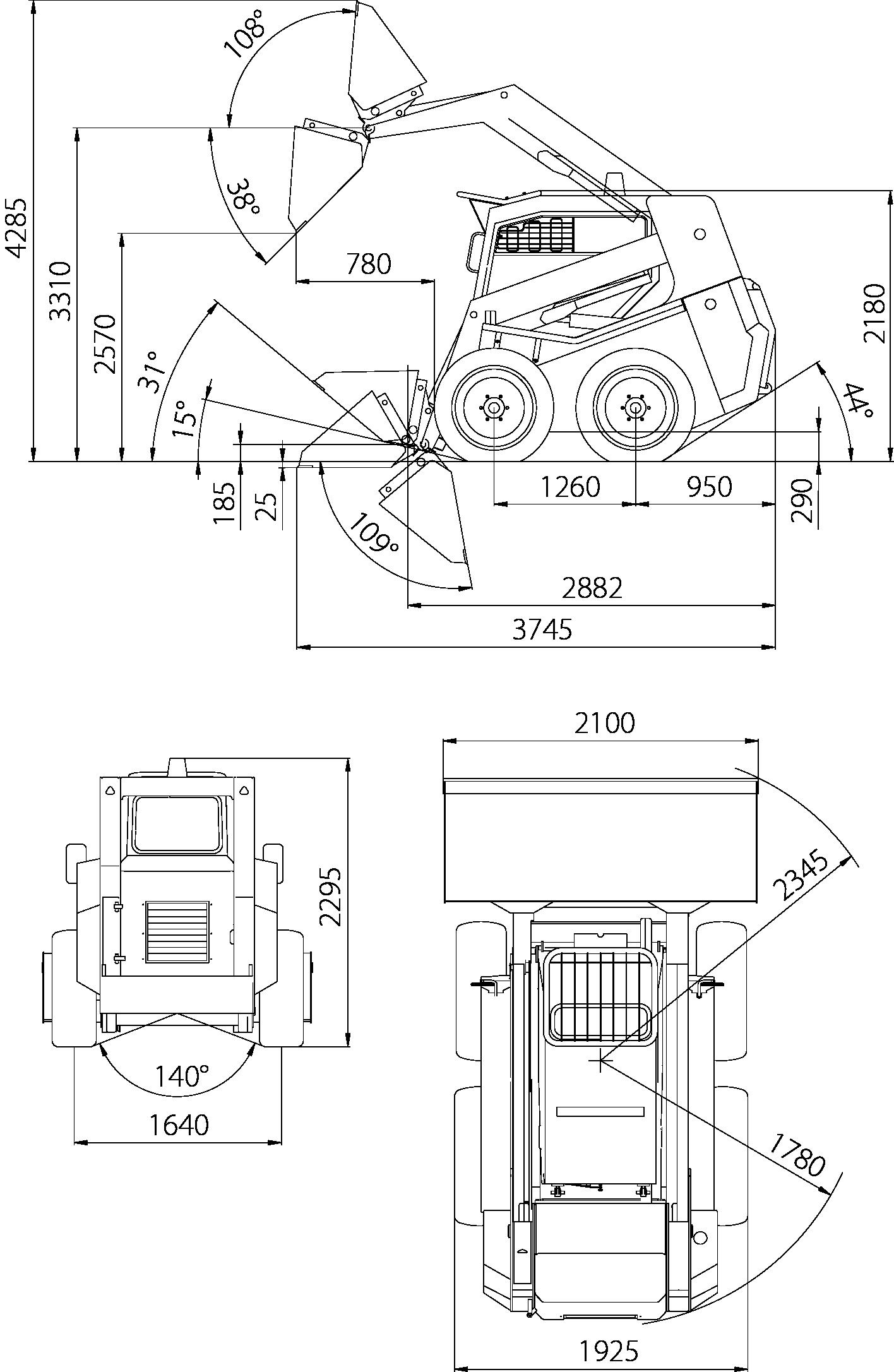 Locust L1203 rozměry
